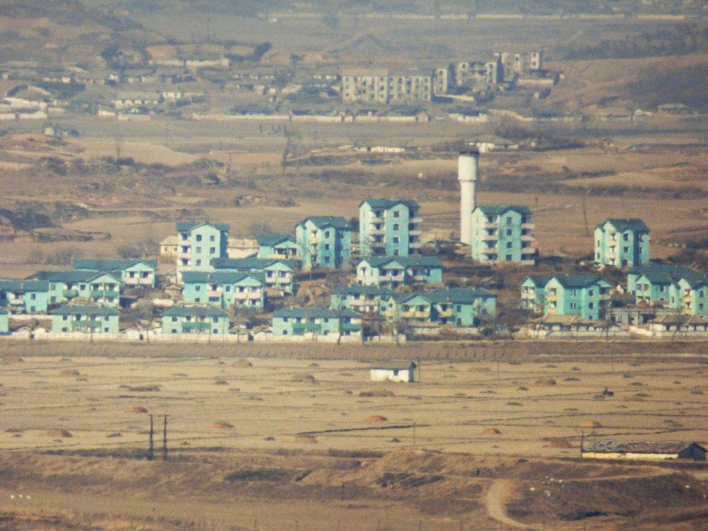 Dora Observatory fake village DMZ