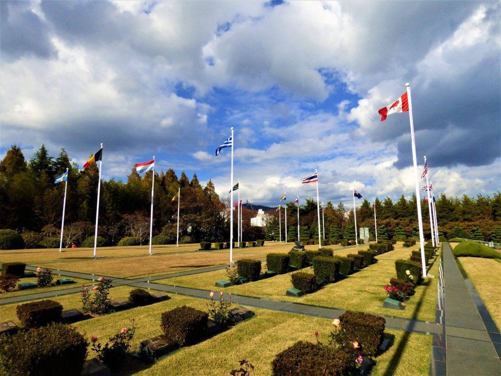 UN memorial cemetery busan itinerary
