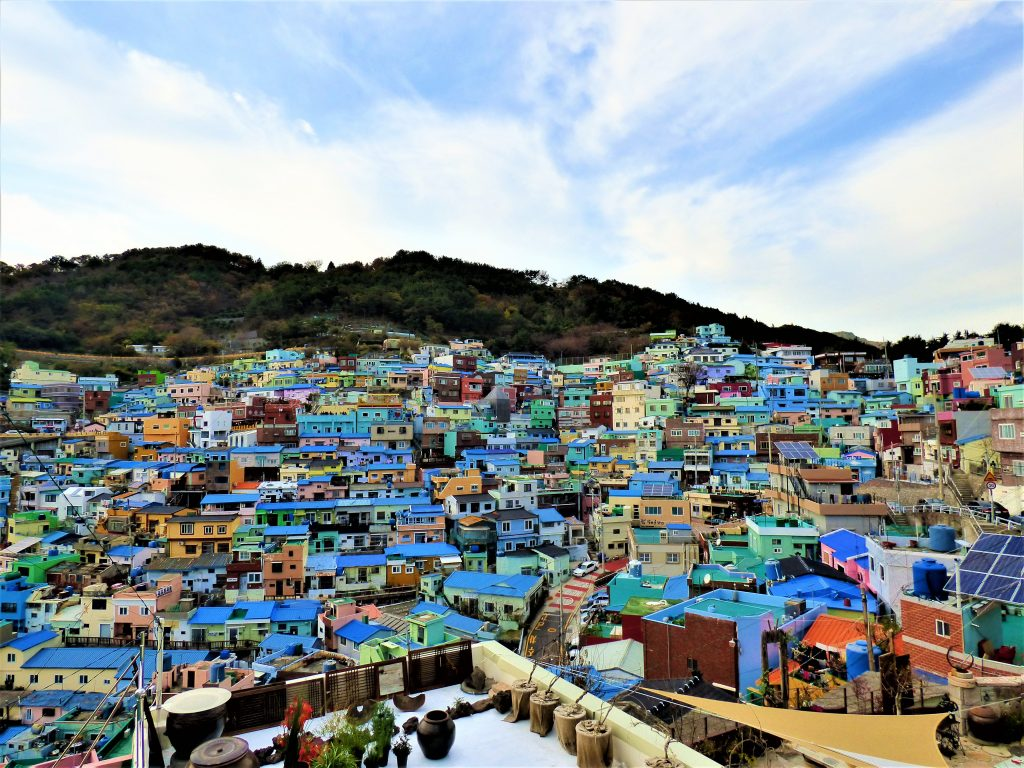 Gamcheon Culture Village busan itinerary