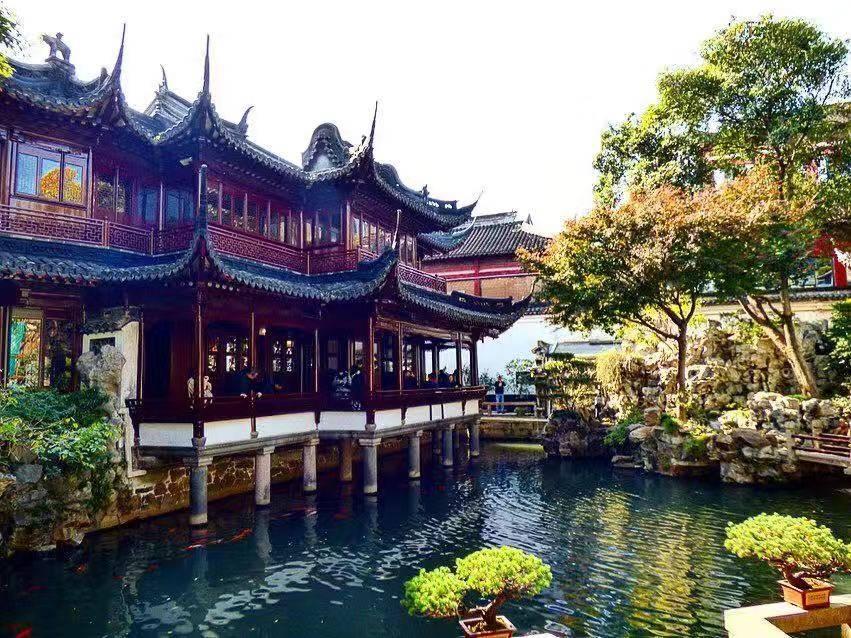 shanghai highlights yu garden