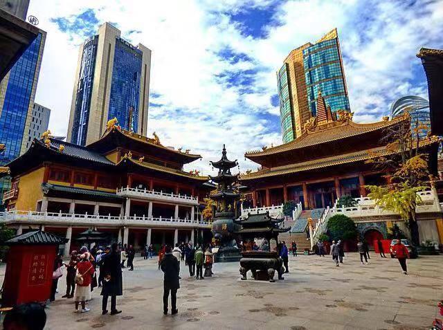 shanghai highlights Jing'an temple