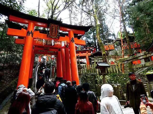 Kyoto itinerary fushimi inari