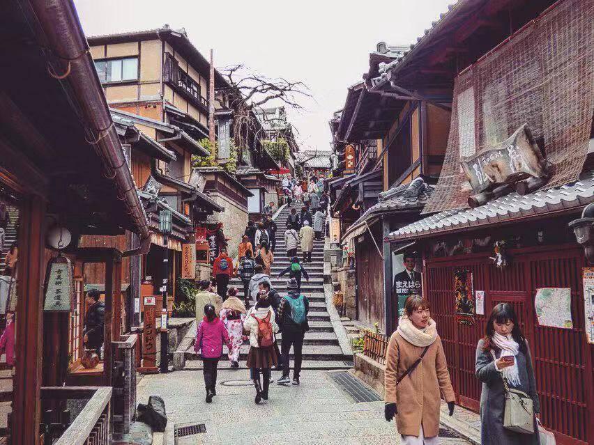 Sannenzaka kyoto itinerary