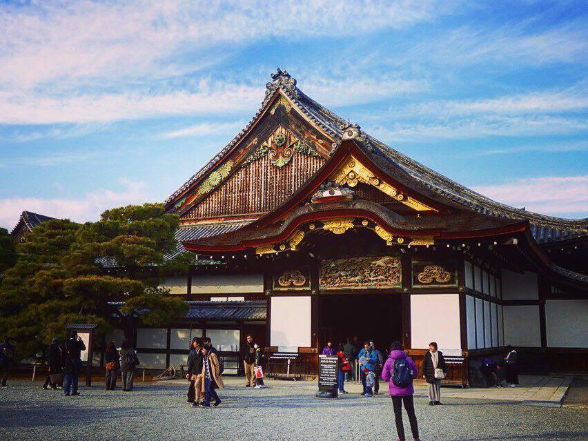 Ninomaru Palace kyoto itinerary