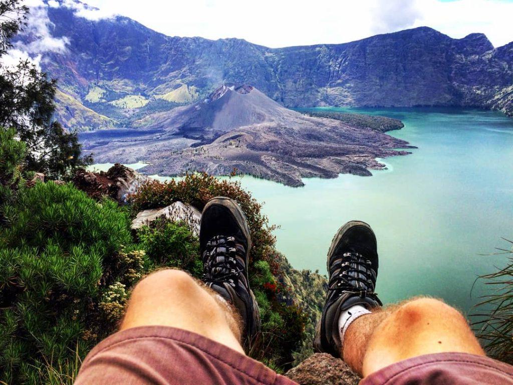 mount rinjani volcano lombok