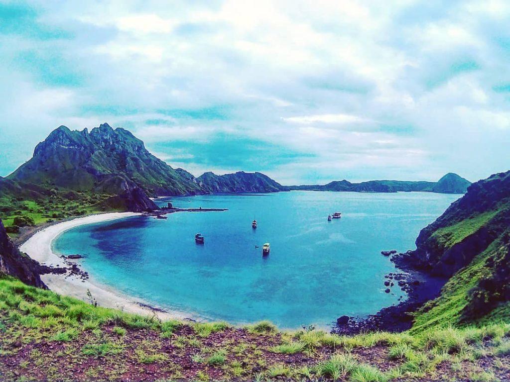 komodo island padar