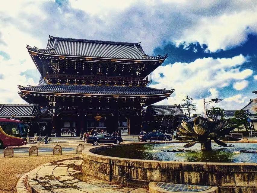 Higashi Honganji kyoto itinerary