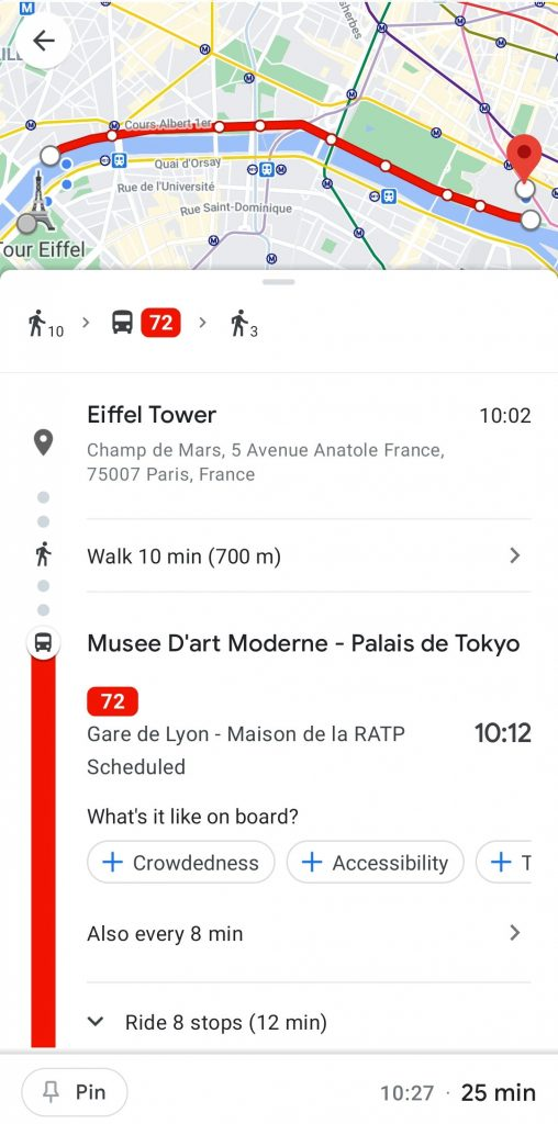 google maps travel apps
